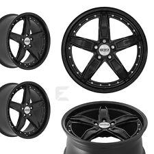 4x 18 Zoll Alufelgen für Ford Mondeo, Turnier / Dotz SP5 black edt. (B-8200531)