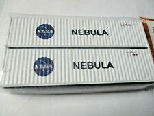 Jacksonville Terminal Company # 405042 NASA NEBULA 40' HC Container N-Scale