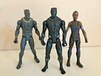 Marvel Black Panther 6 inch,Black Panther, Killmonger & Shuri Figures