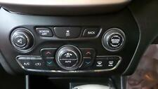 JEEP CHEROKEE HEATER/AC CONTROLS CLIMATE CONTROL TYPE, 06/2014 14 15 16 17 18