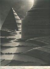 ESTEBE MICHEL GRAVURE 1991 SIGNÉE AU CRAYON NUMÉROTÉ/250 HANDSIGNED NUMB ETCHING