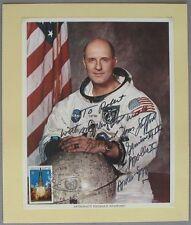 s1200) Tom Stafford NASA Astronaut Photo Autograph SoSt UNISPACE Wien 20.8.1982