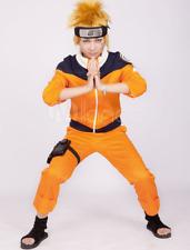 Naruto Uzumaki Anime Halloween Cosplay Costume New Size 2