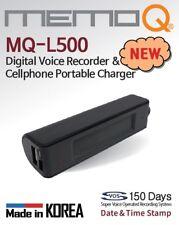 Banco De Energía MQ-L500 (teléfono inteligente con construido en la grabadora de voz)