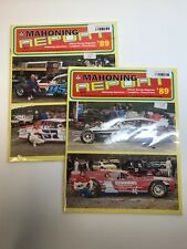 ~1989 Mahoning Report Vol. 3 #2 & #3 Racing Magazine (CC5159a/b)