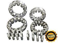 Set delanteras y traseras de cuatro separadores de rueda de aluminio se ajusta va/HYOSUNG 450 X 07-09