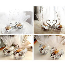 Elegant Romantic Swan Wedding Favour Gift Box Candy Boxes Favours Celebrations