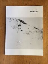 BURTON Snowboard Fall Winter 2016-2017 Catalog Ski Clothing Accessories 52 pages