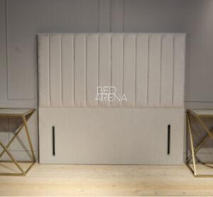 Plush Velvet Arizona Headboard, Floor standing Headboard, Divan Headboard