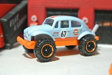 Matchbox VW Baja Bug Beetle - Blue - Loose - 1:64 - Gulf