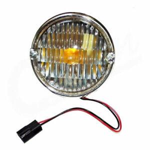 OMIX Park Lamp Assembly Clear Lens for Jeep CJ5 CJ7 CJ8 1976-1986 Crown J5752771