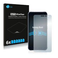 6x Displayschutzfolie Asus ZenFone 3 ZE520KL Schutzfolie Klar Folie Displayfolie