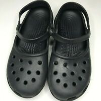 Classic crocs black in color size 7