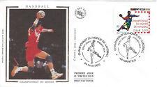2001 - ENVELOPPE 1er JOUR FDC - N° 3367 - CHAMPIONNAT du MONDE de HANDBALL