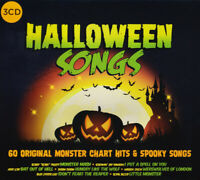 Halloween Songs - 60 Original Monster Chart Hits & Spooky Songs 3CD NEW/SEALED