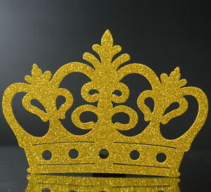 10 pc FOAM CROWN PARTY FAVORS GOLD CROWN PRINCE Princess BABY SHOWER  Birthday