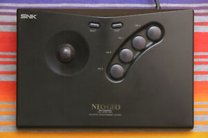 SNK Neo Geo AES Arcade Stick OEM Controller Good Working Condition