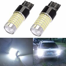 JDM ASTAR 2x 144-SMD 7440 7443  White LED Backup Reverse Turn Brake Lights Bulbs