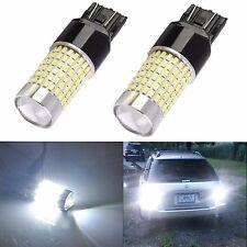 JDM ASTAR 2x 144-SMD 7440 7443 6000K Super White LED Back Up Reverse Lights Bulb