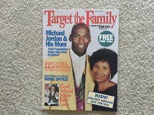 Target Magazine - MICHAEL JORDAN and his Mom - Fall 1994