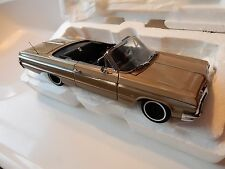 WCPD 1964 CHEVROLET IMPALA CONVERTIBLE DIECAST .  1.24 SCALE