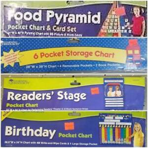 Learning Resources Pocket Charts