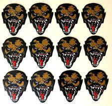 12 Pack Monster Shaped Guitar Picks - WOLFMAN - Hot Picks - 12 pk pics