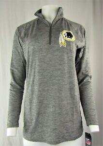 Washington Redskins Vintage NFL Zubaz Women's Lightweight Quarterzip Jacket