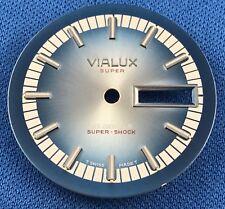 VIALUX -Super- Watch Dial Part 30mm -Super Shock- 21 Jewels  -Swiss Made-  #904