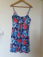 Mantaray Floral Strappy Summer Dress Size 12