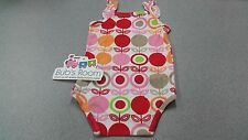 Baby ~ TODDLER ~ Romper ~ Lolly pop print ~ PINK & WHITE & RED ~