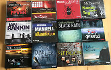 Hörbuch Paket/Hörbücher Sammlung 12 Stück Krimi&Thriller