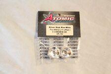 ATOMIC - Jantes Arrière Disk Rim Wide Mini-z -Silver AR-160
