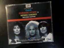CD SINGLE - CHER / CHRISSIE HYNDE / NENEH CHERRY - LOVE CAN BUILD A BRIDGE