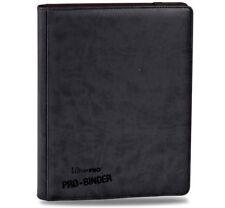 Black Ultra Pro Premium Leatherette Binder Album Folder Card 9-pocket pages