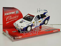 Slot car SCX Scalextric 6258 Ford Escort RS Cosworth #7