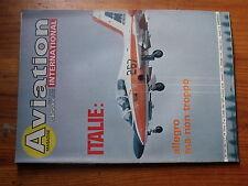 $$ Revue Aviation International Magazine N°799 Sukhoi-22  Robinson R-22  HP-52