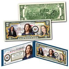 KAMALA HARRIS Historic First Woman U.S. Vice President OFFICIAL $2 US Bill Biden