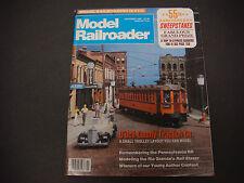 The Model Railroader Magazine, November 1988, O'Dell County Traction Co. 55th Yr