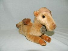 "Russ Yomiko Classics CAMEL 12"" plush 2 Hump stuffed animal toy Tan Brown large"