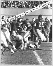 BILL BROWN Gary Cuozzo Vikings Packers 1970 Game Photo Colts