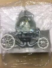 Boule de Neige Snowglobe DISNEY CARROSSE WEDDING CENDRILLON.