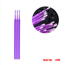 100x Touch Up Paint Micro Brush Small Tip 1mm - Micro Applicator Multipurpose