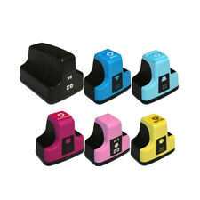 Set of 6Pack Remanufactured Ink Cartridge for HP 02 PhotoSmart C6280 C7150 D7460