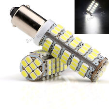 10Pcs White T11 W6W H6W BA9S 68SMD 1206 LED Car Side Wedge LED Light Bulbs 12V