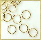 Light Gold Plated Open Jump Rings Jewelry Findings 100pcs 3 4 5 6 7mm Split Jump