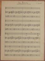 CHARLES GOUNOD AVE MARIA MARIANA SPARTITO MANOSCRITTO PIANOFORTE PIANO MADONNA