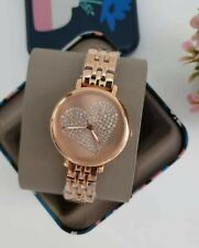 FOSSIL JACQUELINE THREE-HAND ROSEGOLD-TONE WATCH