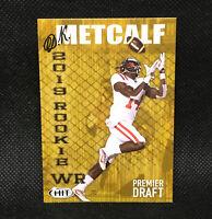 2019 D.K. Metcalf RC Sage Hit Premier Draft #88 Seattle Seahawks Rookie
