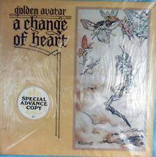 Golden Avatar Sealed Promo OZ LP A change of heart NM Sundarshan SD1 Folk Prog